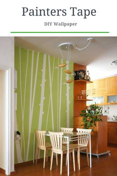 On a budget DIY home decor project tutorial. On a budget DIY home decor project tutorial. Wall painting with painters tape. Pin: 735 x 1102 Diy Home Decor On A Budget, Diy Home Decor Projects, Handmade Home Decor, Decorating On A Budget, Decor Ideas, Room Ideas, Decor Crafts, Interior Decorating, Diy Wand