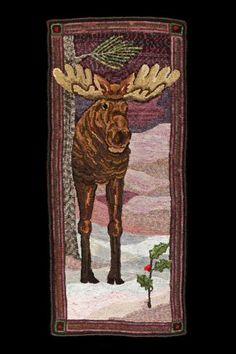 Free Moose Rug Hooking Patterns - Bing Images