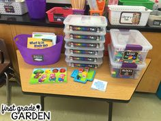 Explore Tubs have been a huge hit in my classroom. I love them because it gives my students a chance to play and explore, but keeps the acti...