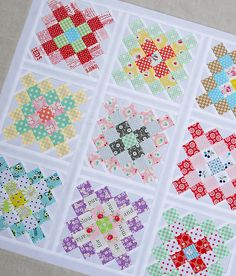 Great Granny Squared - Work in Progress - Red Pepper Quilts