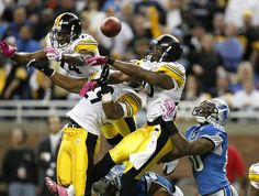 Ike Taylor and Ryan Clark Photos Photos  Pittsburgh Steelers v Detroit Lions f4297c782