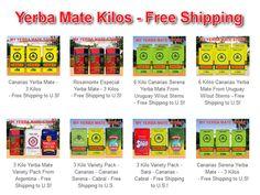 Get your yerba mate kilo variety packs from My Yerba Mate Store.