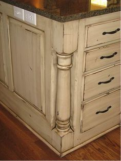 pictures of painted cabinets with glaze | Cabinet paint & glaze | Bathroom