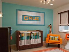 10 Decorating Ideas for Nurseries : Rooms : Home & Garden Television