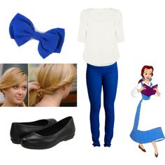 """""""Belle inspired outfit for Disney World"""" by tamara-anderson-hart on Polyvore"""
