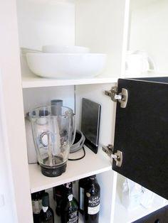 Turn an IKEA Expedit Shelf Into Custom Kitchen Storage: And Hide the Messy Stuff! — IKEA Hackers