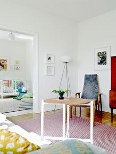 white frames on white walls