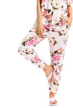 Vintage Rose Tapered Pj Pant Pj Pants, Kids Pajamas, Vintage Roses, Stuff To Buy, Women, Style, Fashion, Swag, Moda
