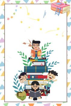 cartoon 423 world reading day poster background World Reading Day, Kids Reading Books, Reading Posters, Girl Reading, Poster Background Design, Cartoon Background, Background Images, World Peace Day, World Earth Day