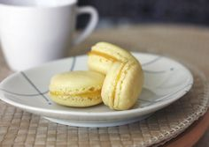 It's been a while since I've attempted macarons so I did a bit of reading before making a batch tonight. Delicious!