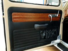 Automotive Upholstery, Car Upholstery, Suv Camper, Fiat 126, Car Interior Design, Vw Cars, Vw Beetles, Car Detailing, Panel Doors
