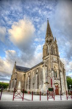 Iglesia de Trizay (Francia)   Flickr: Intercambio de fotos