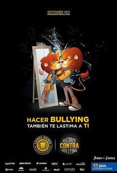 Todos contra el Bullying, Ilustración para los Leones Negros de la Universidad de Guadalajara.