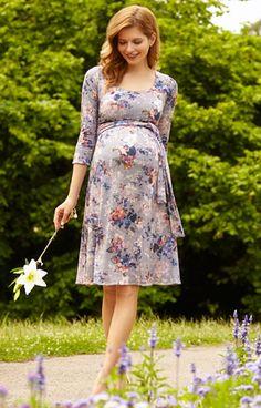 df2bc63070b1a Naomi Nursing Dress Vintage Bloom by Tiffany Rose Maternity Swimwear
