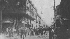 Incendio en calle  Gremios (Jr. Callao 4ta cuadra) 1923-06-16