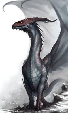 Dragon by Andimayer.deviantart.com on @DeviantArt