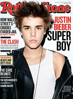 Justin Bieber Talks Sex, Politics, Music and Puberty In New 'Rolling Stone' Cover Story Rolling Stone Magazine Cover, American Music Awards, Bambi, Peinado Justin Bieber, History Of Punk, The Decemberists, Now Magazine, Magazine Covers, The Rolling Stones
