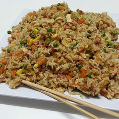 Thermomix Recipe Community: Non-Fried Fried Rice by Witsy - Recipe of category Pasta & rice dishes Wrap Recipes, Rice Recipes, Paleo Recipes, Asian Recipes, Cooking Recipes, Szechuan Recipes, Radish Recipes, Thermomix Recipes Healthy, Cantaloupe Recipes