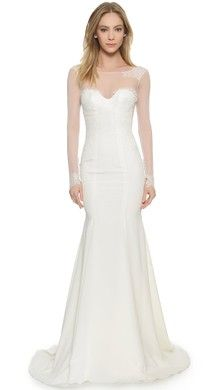 Reem Acra I'm Beautiful Strapless Gown | SHOPBOP