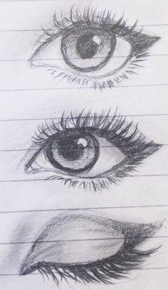 Cute Eyes Drawing : drawing, Drawing, Ideas, Drawing,, Drawings,, Tutorials