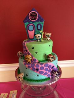 Littlest Pet Shop Birthday Cake