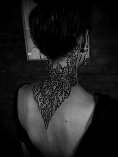 Black&white 》soft macabre 》 tattoos
