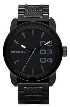 DIESEL® 'Franchise' Bracelet Watch, 46mm available at #Nordstrom