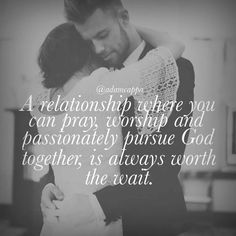 Allow God to be in the middle of the marriage!