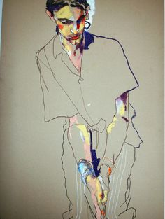 beautiful lines and colour. these images are so inspirational. visit howard's website at howardtangye.com