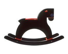 Playsam Rocking Horse Black