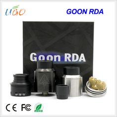 High quality 1:1 clone goon 528 rda 24mm dripper atomizer 528 goon rda clone