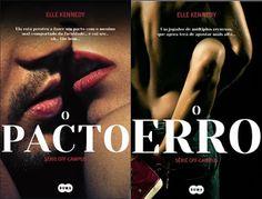 """Clube dos Livros: Passatempo Pack - """"O Erro"""" e """"O Pacto"""" de Elle Ken..."""