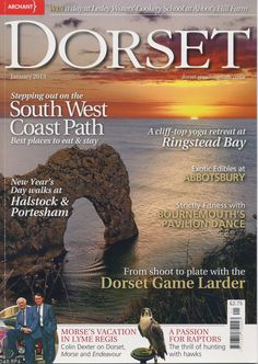 BOUND: January 2013 press feature in Dorset Magazine