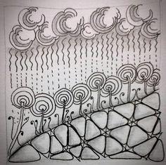 iZentangleWorld Zentangle, Doodles, Challenge, Boards, Abstract, Artwork, Planks, Summary, Work Of Art