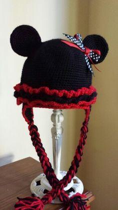 Minnie Crochet Hats, Beanie, Knitting Hats, Beanies, Beret