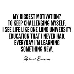 My Biggest Motivation....