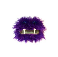 Violet the EcoFriendly Tin Monster  Upcycled by AlteredDecadence, $10.00