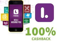 Little App 100% Cashback Offer May 2016 : Little App New User 100% Cashback