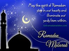 Happy Ramadan Mubarak Wishes. Ramadan Kareem is an auspicious festival for Muslims . People believe that whoever fasts in Ramadan month with man and seeks