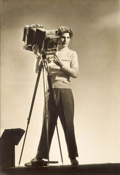Self-portrait with Camera, c 1933, by Margaret Bourke-White