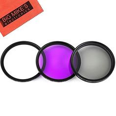 82mm MultiCoated 3 Piece Filter Kit UVCPLFLD for Canon Digital Cameras Which Have any of These Canon Lenses EF 1635mm f28L EF 2470mm f28L *** Check this awesome product by going to the link at the image.