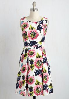 Dresses - I Rest My Grace Dress in Painted Blooms