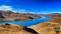 Yamdrok Lake in Tibet. #Tibet , #Lake , #landscape