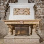 Artificial stone - fireplace