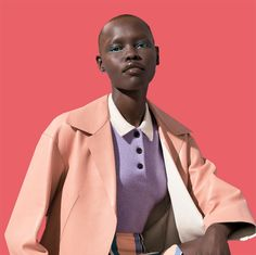 Grace Bol for W Magazine March 2015