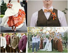 Ideas and Inspiration for your Autumn Wedding - outfts