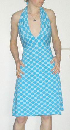 Rückenfreies Kleid Anfänger - Halber Tag - Vollständig  Gefällt mir   Schlagwörter: Baumwollstoff - Kleider - Im Sommer basteln - Schnittm...