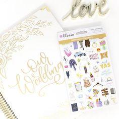Sticker Sheets, Wedding Planning Stickers V2  #BloomPlanners #BloomPlanner #BloomDailyPlanners #Calendar #BloomGirl #Planner #Plan #Organization #Inspiration #PlannerAddict #PlannerLove #PlannerCommunity #BloomWhereYouArePlanted #PlanToBloom #Wedding #WeddingPlanning