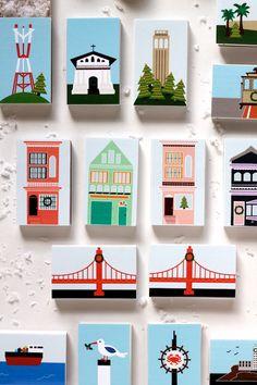 Printable: San Francisco Advent Calendar