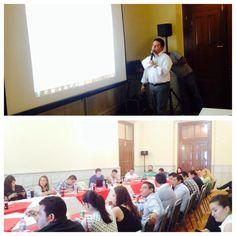 Director @chipirrumix exponiendo  el Plan Anual de Obra 2014 a la Comisión de Obras Públicas y de Desarrollo Social